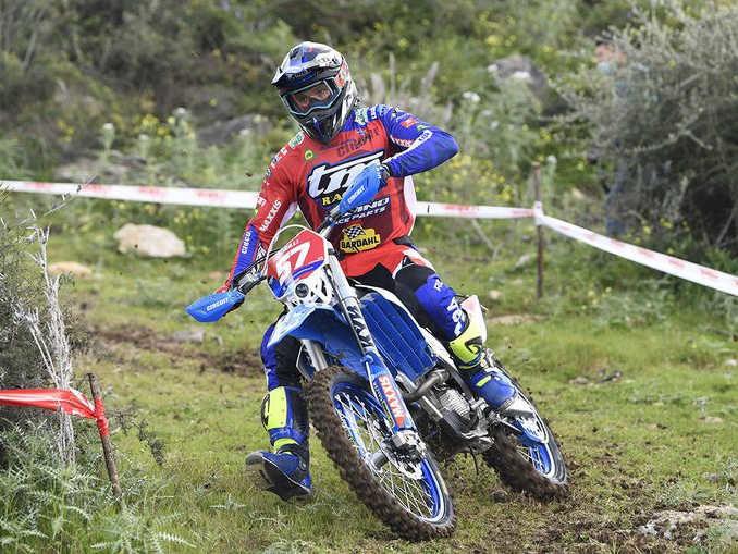 Ruprecht, australiano del Moto club Dogliani, guida la classifica degli Assoluti di enduro