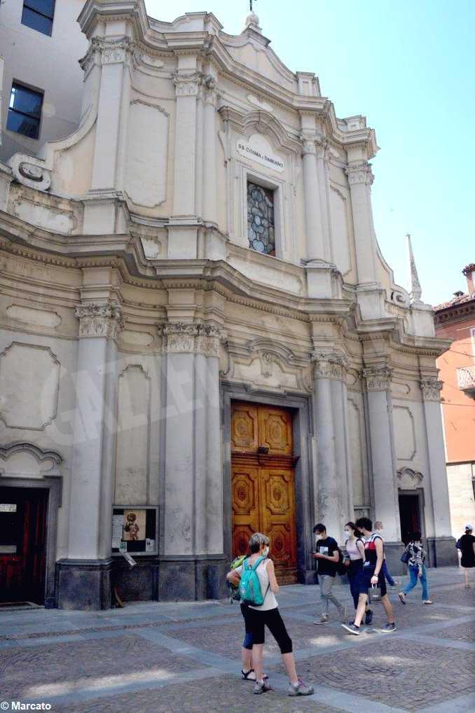 alba chiesa San Damiano