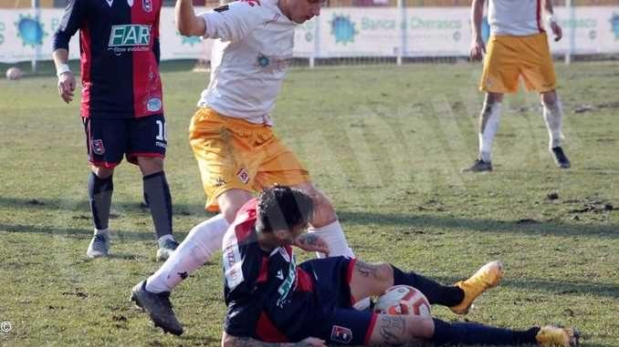 SERIE D: il Bra sconfitto 3-1 dal Gozzano nel recupero di mercoledì