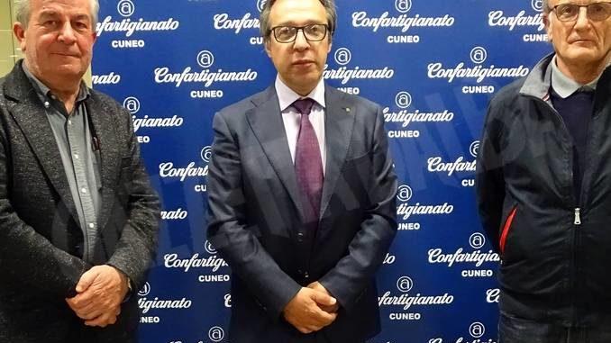 Confartigianato: Giuseppe Altare è stato confermato presidente della zona di Dogliani 2