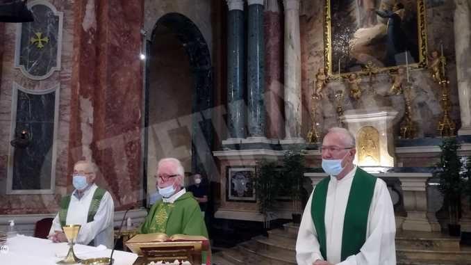 Festeggiati i sessanta anni di ordinazione di don Adolfo Ferrero e don Piero Gallo 1