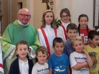 Don Antonio Tarabra: 60 anni di sacerdozio festeggiati tra i suoi parrocchiani dell'Oltre Stura cheraschese