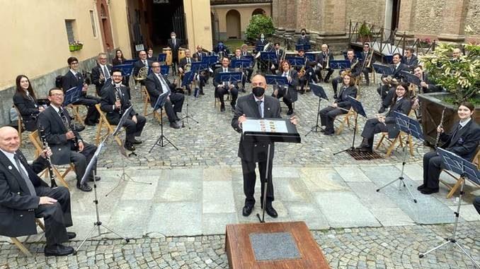 Dogliani: dopo un anno di stop torna il concerto della filarmonica per la festa dei santi Pietro e Paolo