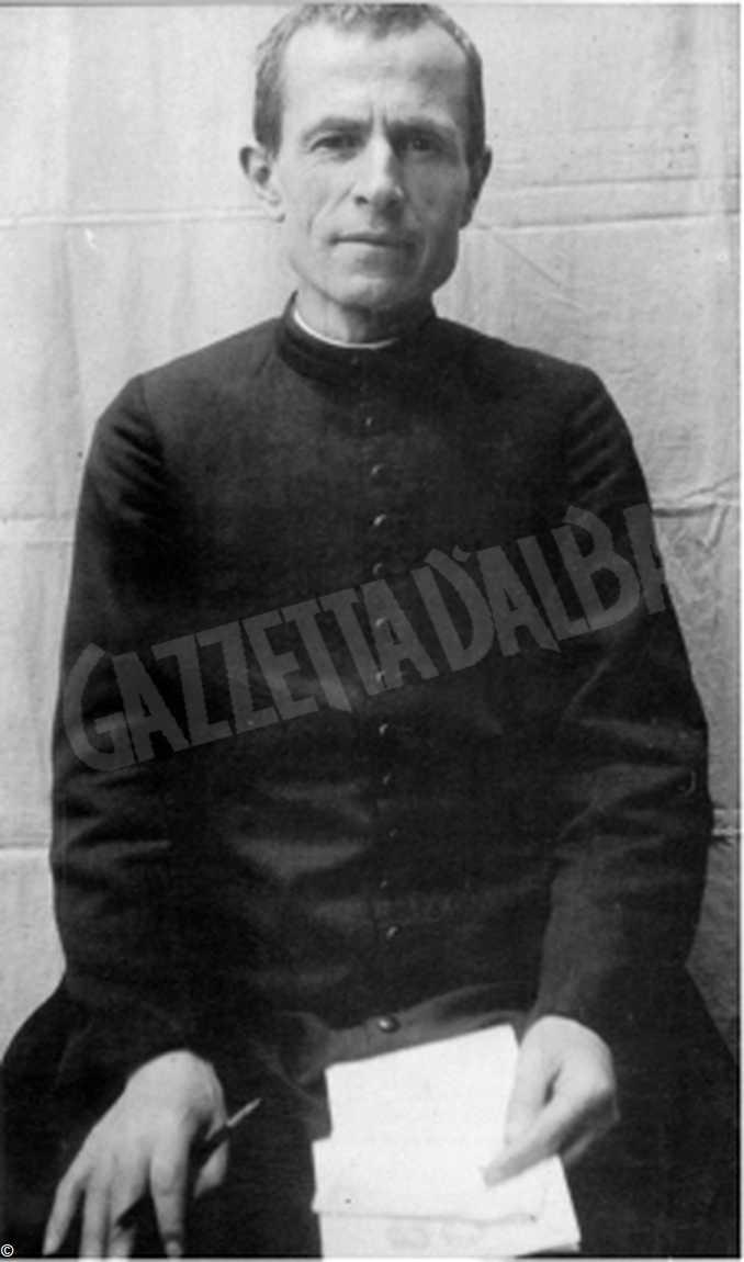 giovane don Giacomo Alberione