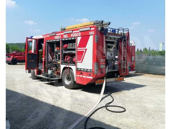 incendio Isola d'Asti giusto