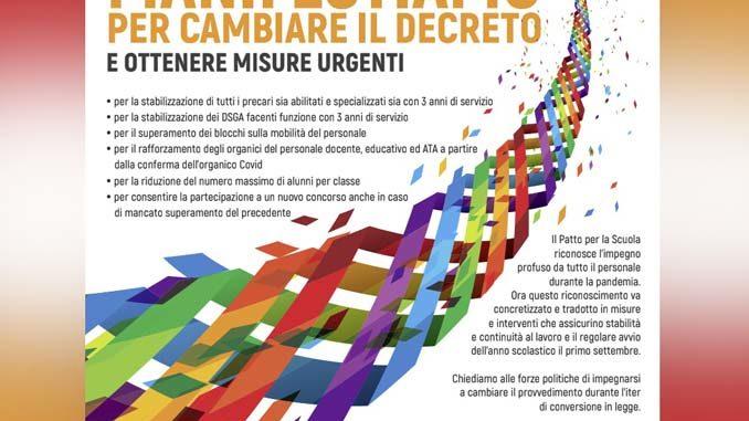 Scuola in piazza il 9 giugno in tutte le province del Piemonte 1