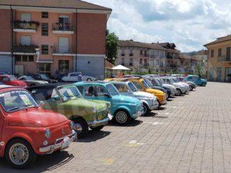 Neive celebra Dante Giacosa con il raduno delle Fiat 500