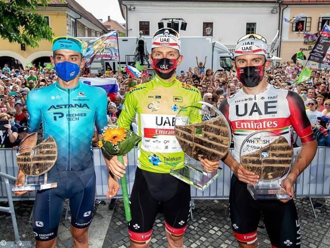 podio giro slovenia