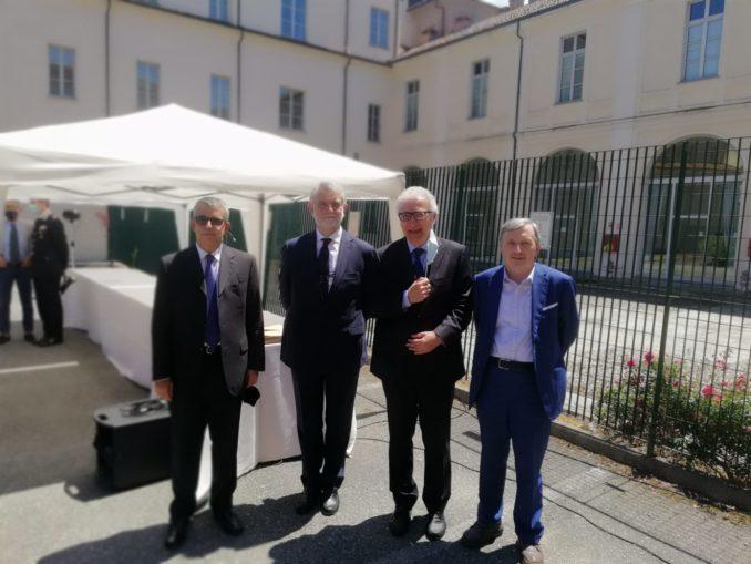 Il procuratore generale di Asti, Alberto Perduca, in pensione da lunedì