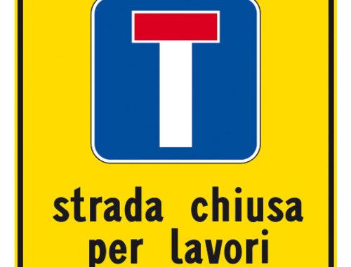 Alba: modifiche temporanee alla viabilità con divieto di transito in via Paruzza 1