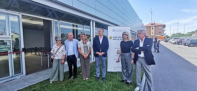 A – inaugurazione hub Mondovi