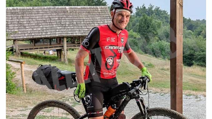 Il ciclista Aldo Olivieri ha percorso l'Altra via da Torino a Savona tutta di un fiato