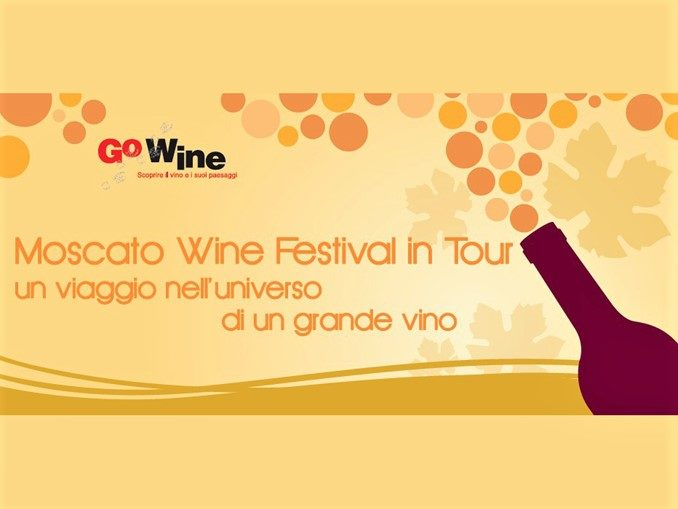 Moscato Wine Festival in tour: appuntamento mercoledì 21 luglio a Roma, Hotel Savoy