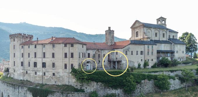 Festa d'addio per le brutture in cemento al castello di Monesiglio