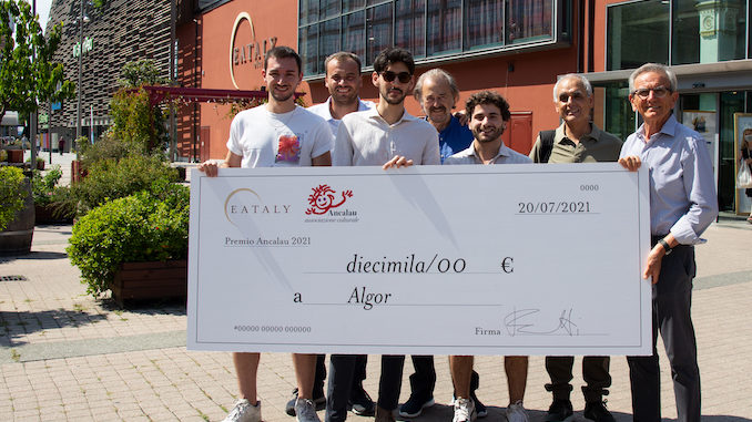 Consegnato il Premio Ancalau 2021 al team della start up vincitrice