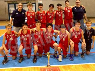 Gli under 14 della Pallacanestro Farigliano hanno vinto il titolo regionale Csi 1
