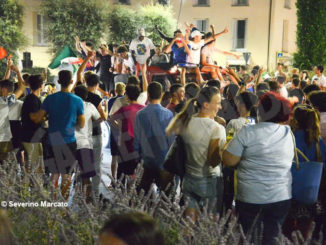 Europei: le immagini e i video dei festeggiamenti ad Alba 10