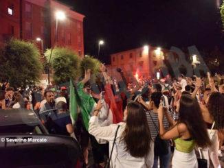 Europei: le immagini e i video dei festeggiamenti ad Alba 11