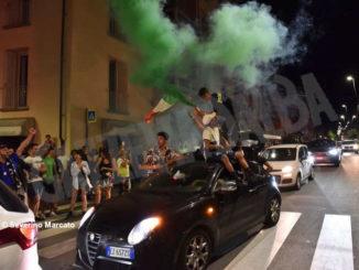 Europei: le immagini e i video dei festeggiamenti ad Alba 12