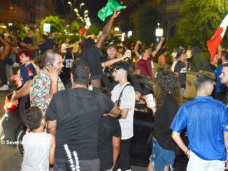 Europei: le immagini e i video dei festeggiamenti ad Alba 17