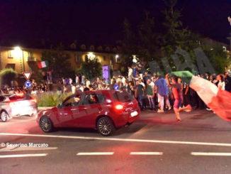 Europei: le immagini e i video dei festeggiamenti ad Alba 18