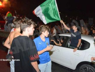 Europei: le immagini e i video dei festeggiamenti ad Alba 3