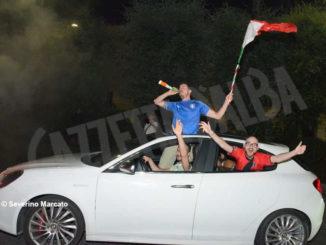 Europei: le immagini e i video dei festeggiamenti ad Alba 4