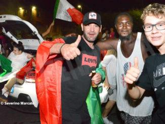 Europei: le immagini e i video dei festeggiamenti ad Alba 6
