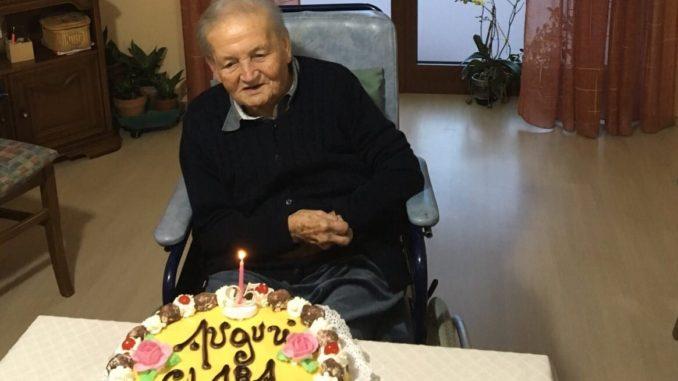 Bra piange la centenaria Clara Ternavasio