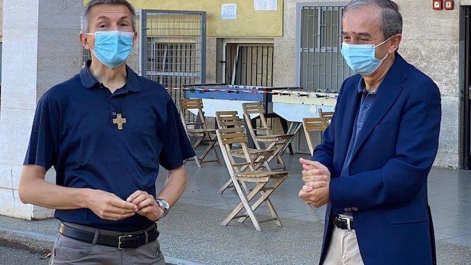 Il saluto del sindaco Fogliato all'Estate ragazzi dei Salesiani