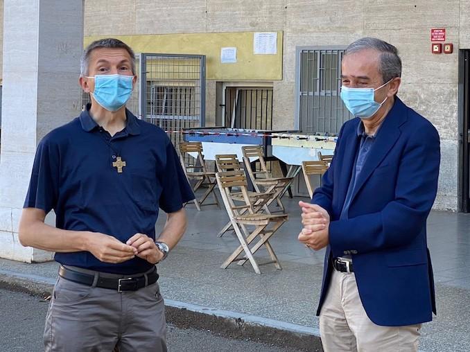 Lino Ferrero e Gianni Fogliato