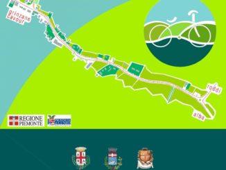 Pista ciclabile Alba-Roddi-Gallo: inaugurazione il 7 luglio