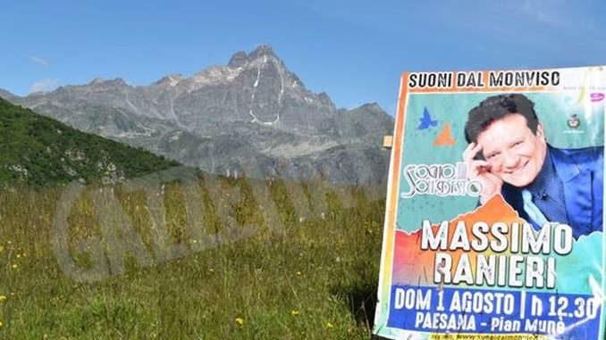 Le indicazioni per assistere al concerto di Massimo Ranieri a Pian Munè