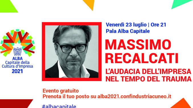 Massimo Recalcati ospite di Alba Capitale della Cultura d'Impresa