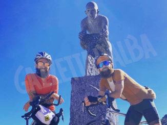 Menicucci e La Montagna partono oggi per Capo Nord in bicicletta 1