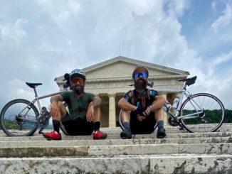 Menicucci e La Montagna partono oggi per Capo Nord in bicicletta