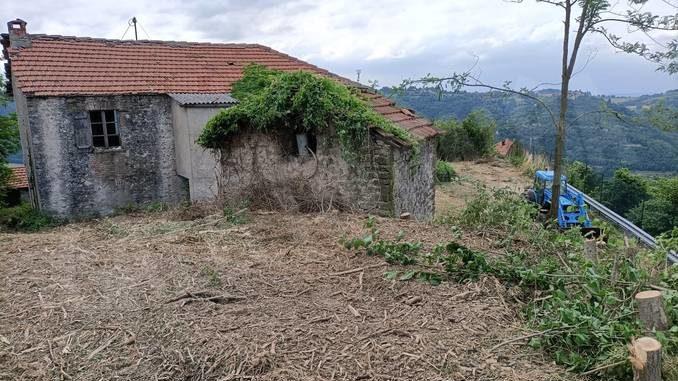 A Niella Belbo l'area sopra il castello diventerà un giardino