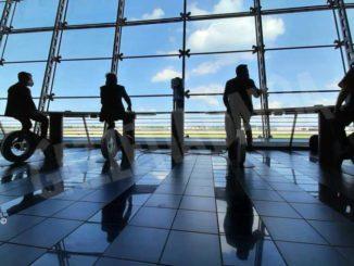 All'aeroporto di Torino si ricarica lo smartphone pedalando 1