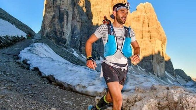 L'albese Piero Bello è arrivato terzo alla 100 miglia del Monviso