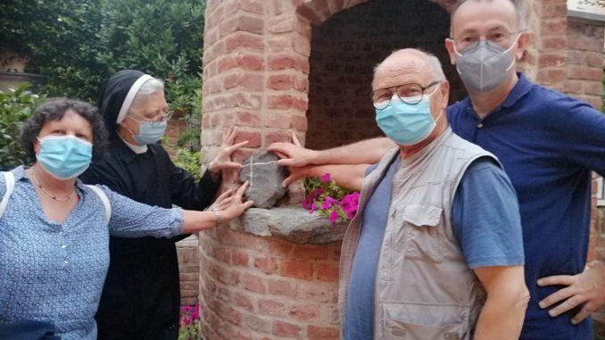 Da Saint Pons alla casa del Cottolengo: una pietra per rinsaldare l'amicizia