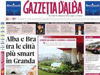 La copertina di Gazzetta d'Alba in edicola martedì 27 luglio