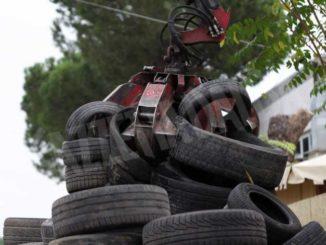In Piemonte oltre 90 mila tonnellate di pneumatici recuperati da Ecopneus