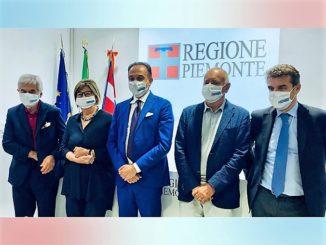 Incontro tra il presidente Cirio e i presidenti emeriti della Regione Ghigo, Bresso, Cota e Chiamparino