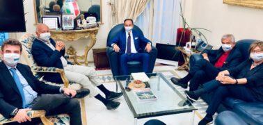 Incontro tra il presidente Cirio e i presidenti emeriti della Regione Ghigo, Bresso, Cota e Chiamparino 1
