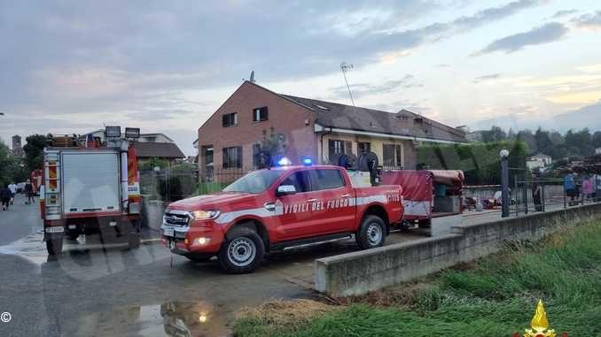 Bomba d'acqua sul Roero: allagamenti da Castagnito a San Damiano