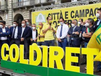 La Regione al fianco della Coldiretti nella protesta contro i cinghiali