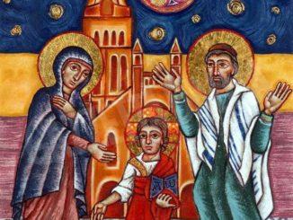 Sarà benedetta e collocata in San Giuseppe l'icona di Ceron sulla Famiglia di Nazareth