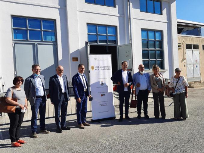 Con Borgo San Dalmazzo e Mondovì Confindustria Cuneo completa l'apertura degli hub vaccinali