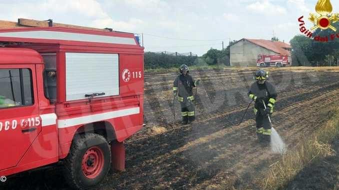 Due interventi in poche ore per i volontari dei Vigili del fuoco di Busca