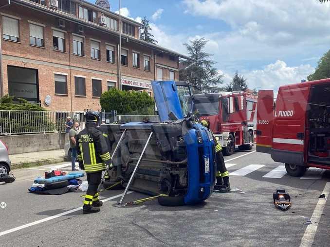 incidente Asti sito